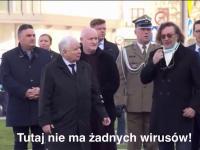 Dyktator Kaczyński dyscyplinuje swojego poddanego