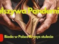 Pandemia strachu i bieda w Polsce - Kryzys stulecia