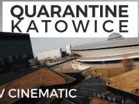 Dronem wyścigowym przez puste Katowice