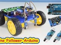 Robot jeżdżący po linii Arduino