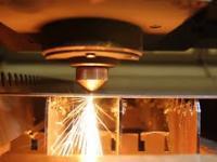 Wycinanie w arkuszu miękkiej stalowej za pomocą lasera
