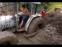 Jak wyciągnąć ciągnik z bagna