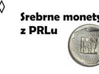 Srebrne monety z PRLu