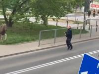 Blokada Policyjna - Totalny Wariat na drodze