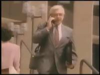 Reklama telefonu komórkowego z lat 80-tych