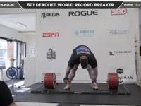 """""""Góra"""" podnosi 501 kg i pobija światowy rekord"""