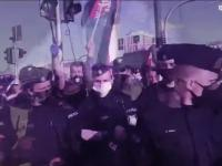 Grzegorz Braun kontra policjant