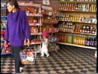 Świnoujście: zakupy w samie, rok 1993