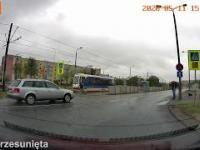 Wypadek przed przejściem dla pieszych