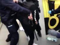 Skandaliczne podejście policji do protestujących