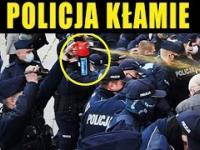 POLICJA ZŁAPANA NA KŁAMSTWIE