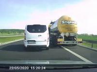 Uciekające Auto bez Kierowcy Na S5