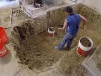 Przebudował piwnicę, aby stworzyć nowe miejsce do domowej rozrywki