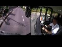 Węgierski kierowca autobusu ratuje starszą kobietę, która została napadnięta
