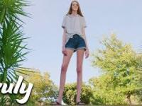 16-latka, która ma nogi o długości prawie 135 centymetrów
