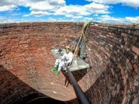 Biwak w kominie 120 metrowym - BNT
