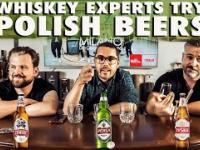 Anglik, Irlandczyk i Polak rozmawiają przy polskich piwach