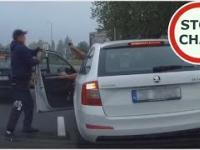 Agresja drogowa - Na każdego cwaniaka znajdzie się większy cwaniak