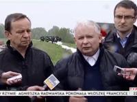Kaczyński o wałach przeciwpowodziowych w zderzeniu z rzeczywistością po 5 latach