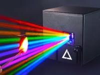 Magiczna laserowa kostka