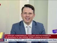 Wyciszanie Mentzena w TVP Info, gdy mówi o PiSie...