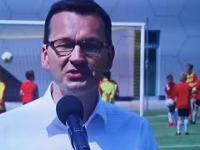 Morawiecki: marzenie piłkarza niech będzie Białystok a nie Real Madryt
