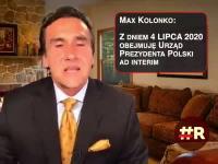 Max Kolonko ogłasza się prezydentem Polski!