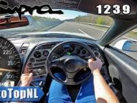 Toyota Supra z 1239 Końmi mechanicznymi