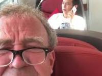 Jeremy Clarkson jedzie pociągiem