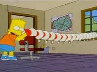 Simpsona zabawa z megafonem