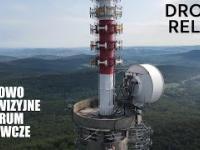 Radiowo-Telewizyjne Centrum Nadawcze z drona