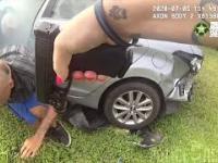 Policyjny pościg za złodziejem samochodowym