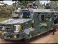 Meksykański kartel CJNG prezentuje swój sprzęt i żołnierzy