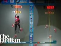 Indonezyjka jest najszybszą kobietą we wspinaczce