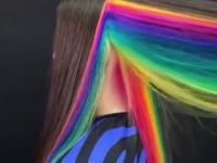 Kiedy chcesz mieć ojazjionalnie kolorową fryzurę