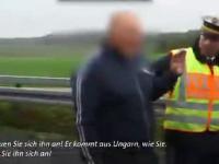 Policjant poucza Czecha, żeby nie robił zdjęć martwym ludziom po wypadku