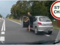 Agresor gania kierowcę za uprzejmość