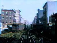 Nowy Jork przejazd kolejką, rok 1916