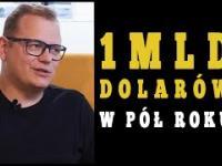 Zbudował firmę warta 1 mld dolarów - Dawid Zieliński