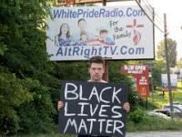 Znak BLM w najbardziej rasistowskim miasteczku w Stanach