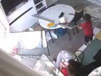 Nagrania z domowych kamer uchwycone podczas wybuchu w Libanie
