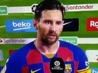 """Messi po meczu """"Zgadza się jesteśmy dziadami"""""""
