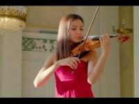 Bardzo trudny i wymagający utwór Paganiniego zagrany niesamowicie na skrzypcach