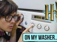 Harry Potter zagrany na pralce
