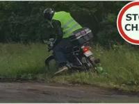 Zatrzymanie obywatelskie pijanego motocyklisty oraz kierowcy Volvo