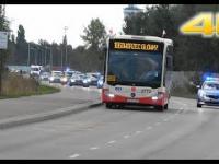 Przejazd kolumny SOP z prezydentem wracającym z uroczystości na Westerplatte