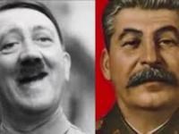 "Hitler oraz Stalin śpiewają utwór ""Video Killed The Radio Star"""