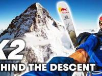 Zjazd na nartach z K2 w wykonaniu Andrzeja Bargiela