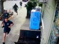 Złodziej napada na kobietę zaraz obok budynku straży pożarnej. I to był poważny błąd
