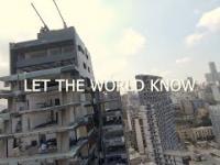 Sytuacja po wybuchu w Bejrucie - przerażające zdjęcia z drona
